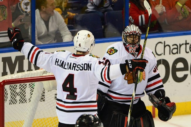 Chicago Blackhawks vs. St. Louis Blues - 1/24/16 NHL Pick, Odds, and Prediction