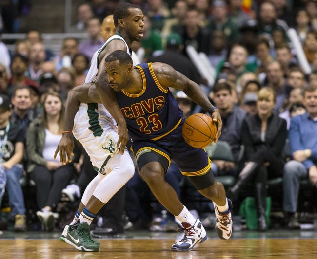 Cleveland Cavaliers vs. Milwaukee Bucks - 11/19/15 NBA Pick, Odds, and Prediction