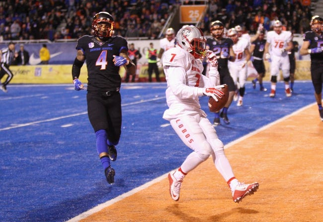 New Mexico vs. Boise State - 10/7/16 College Football Pick, Odds, and Prediction