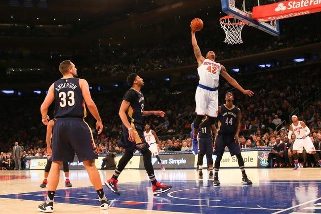 Pelicans vs. Knicks - 3/28/16 NBA Pick, Odds, and Prediction