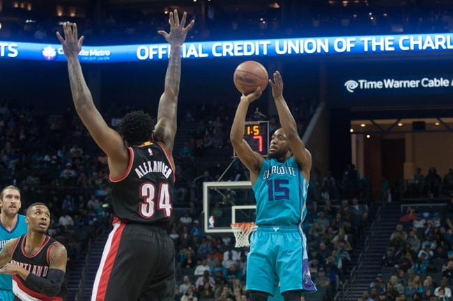 Hornets at Trail Blazers - 1/29/16 NBA Pick, Odds, and Prediction