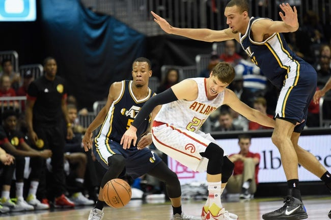 Jazz vs. Hawks - 3/8/16 NBA Pick, Odds, and Prediction