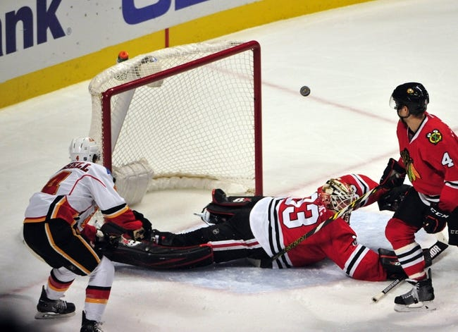 Calgary Flames vs. Chicago Blackhawks - 11/20/15 NHL Pick, Odds, and Prediction