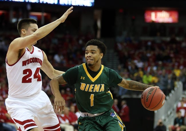 Saint Peter's vs. Siena - 12/6/15 College Basketball Pick, Odds, and Prediction