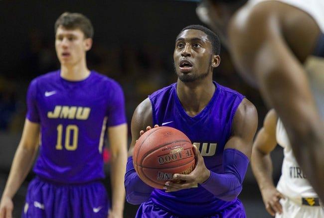 James Madison vs. College of Charleston - 12/31/15 College Basketball Pick, Odds, and Prediction