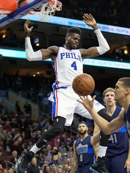 Philadelphia 76ers  at Dallas Mavericks  - 2/21/16 NBA Pick, Odds, and Prediction