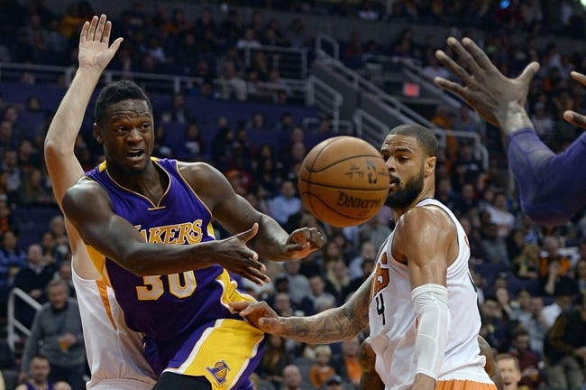 Lakers vs. Suns - 1/3/16 NBA Pick, Odds, and Prediction