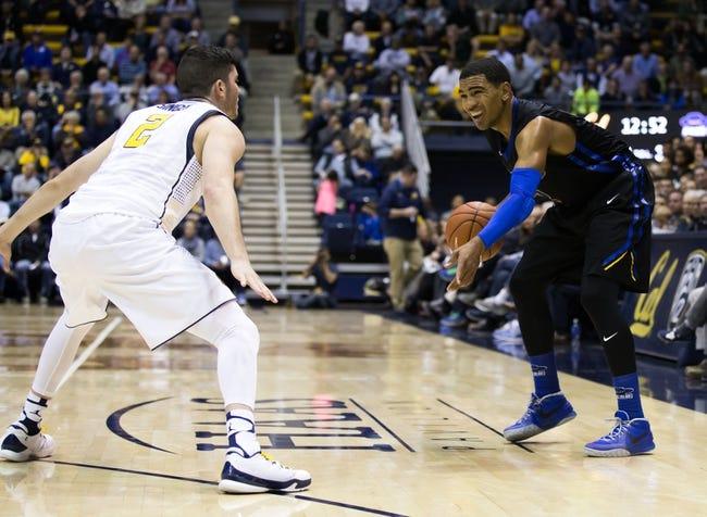 Santa Barbara Gauchos vs. UC Davis Aggies - 3/10/16 College Basketball Pick, Odds, and Prediction