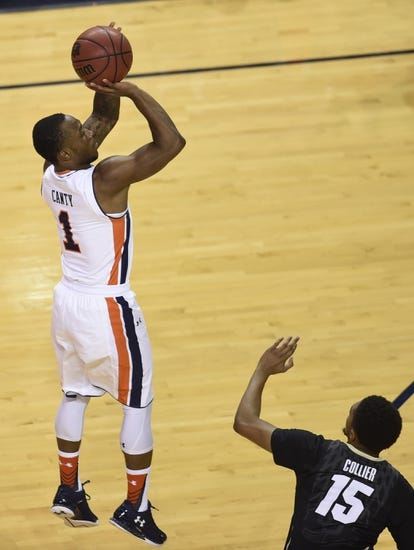 Auburn Tigers vs. Mercer Bears - 12/15/15 College Basketball Pick, Odds, and Prediction