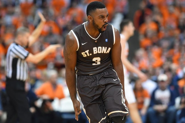 St. Bonaventure vs. Davidson - 1/2/16 College Basketball Pick, Odds, and Prediction