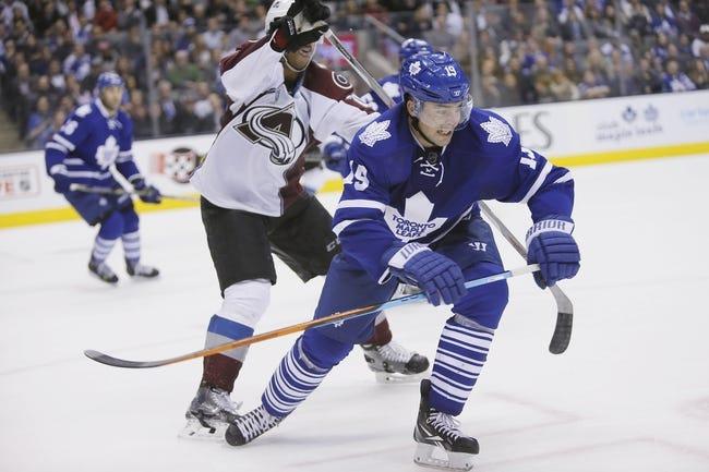 Colorado Avalanche vs. Toronto Maple Leafs - 12/21/15 NHL Pick, Odds, and Prediction