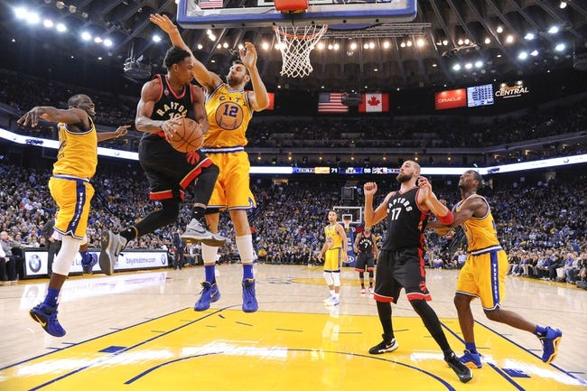 Raptors vs. Warriors - 12/5/15 NBA Pick, Odds, and Prediction
