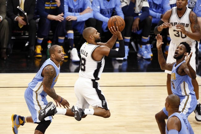 Nuggets vs. Spurs - 11/27/15 NBA Pick, Odds, and Prediction