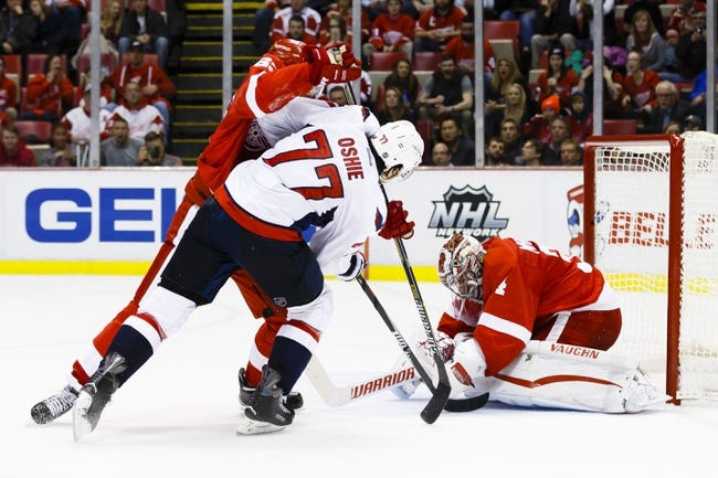 Washington Capitals vs. Detroit Red Wings - 12/8/15 NHL Pick, Odds, and Prediction