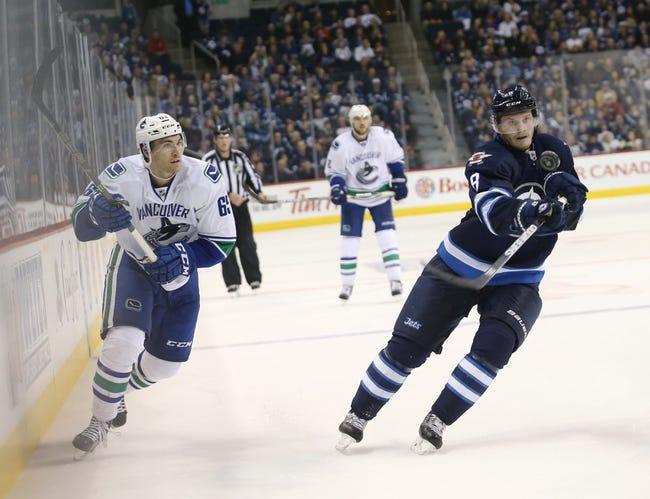 Vancouver Canucks vs. Winnipeg Jets - 3/14/16 NHL Pick, Odds, and Prediction