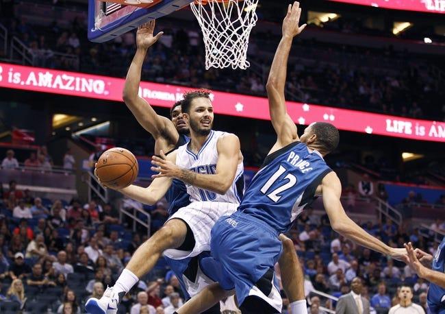Magic at Timberwolves - 12/1/15 NBA Pick, Odds, and Prediction
