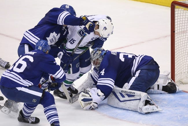 Vancouver Canucks vs. Toronto Maple Leafs - 2/13/16 NHL Pick, Odds, and Prediction