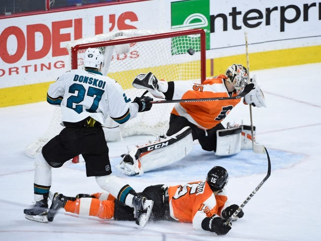 NHL | Philadelphia Flyers (20-13-4) at San Jose Sharks (22-12-1)
