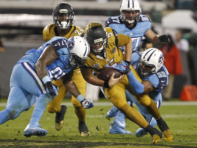 Tennessee Titans at Jacksonville Jaguars 11/19/15 NFL Score, Recap, News and Notes