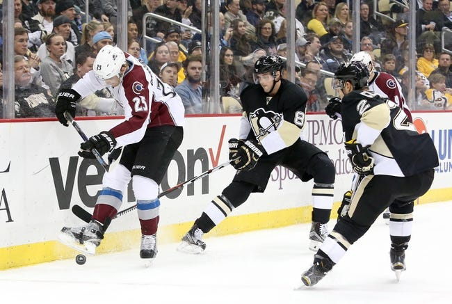 Colorado Avalanche vs. Pittsburgh Penguins - 12/9/15 NHL Pick, Odds, and Prediction