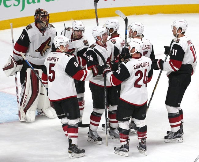 Arizona Coyotes vs. Montreal Canadiens - 2/15/16 NHL Pick, Odds, and Prediction
