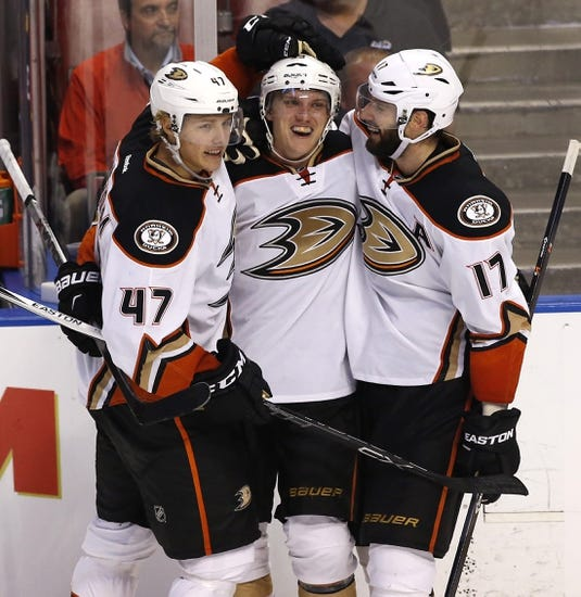 Anaheim Ducks vs. Florida Panthers - 2/17/17 NHL Pick, Odds, and Prediction