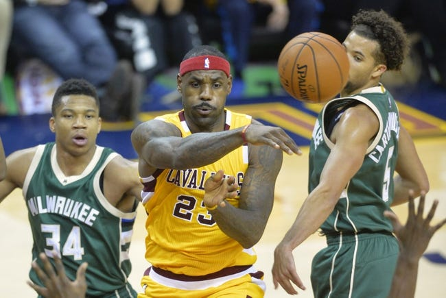 Cavaliers vs. Bucks - 3/23/16 NBA Pick, Odds, and Prediction