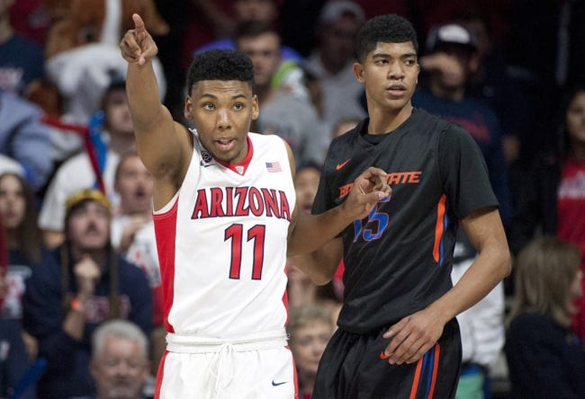 Arizona vs. Boise State - 11/29/15 College Basketball Pick, Odds, and Prediction