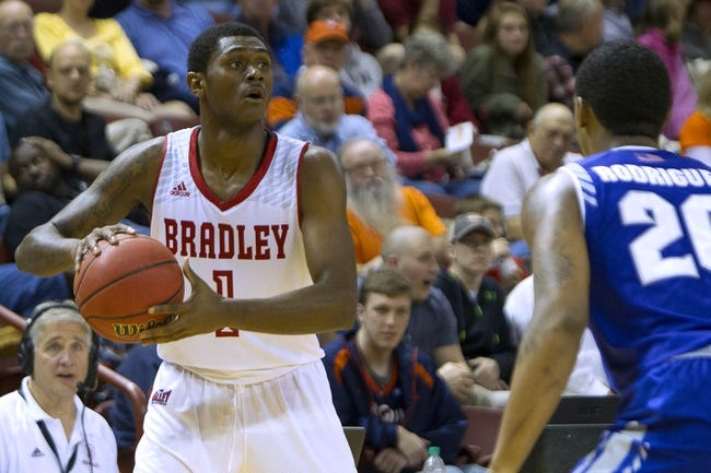 Bradley Braves vs. Evansville Purple Aces - 2/23/16 College Basketball Pick, Odds, and Prediction