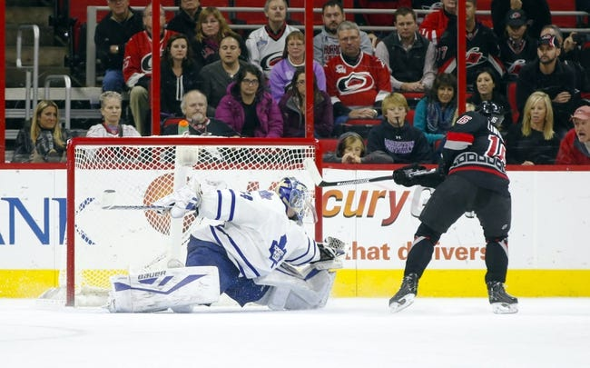 Maple Leafs vs. Hurricanes - 1/21/16 NHL Pick, Odds, and Prediction
