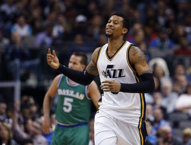 Mavericks vs. Jazz - 2/9/16 NBA Pick, Odds, and Prediction