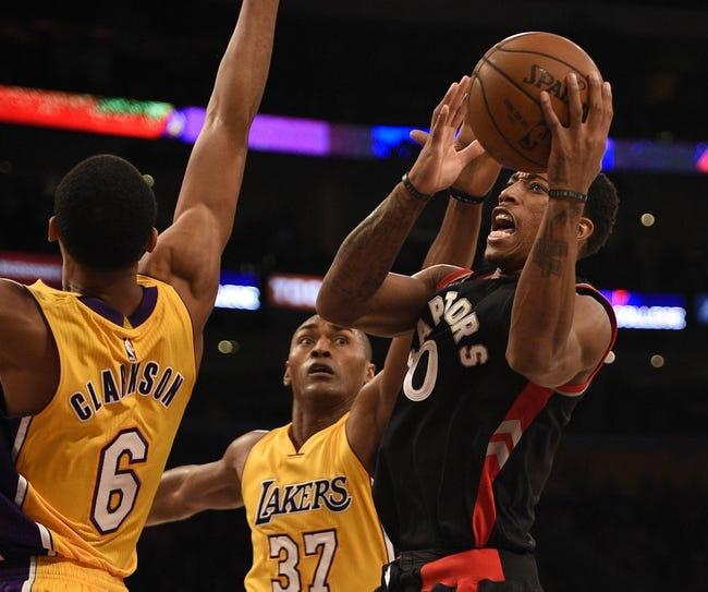 Toronto Raptors vs. Los Angeles Lakers - 12/7/15 NBA Pick, Odds, and Prediction