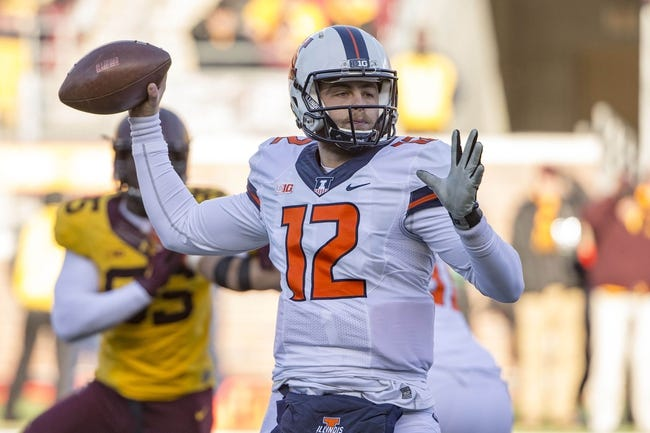 Illinois vs. Northwestern - 11/28/15 College Football Pick, Odds, and Prediction