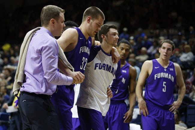 Furman Paladins vs. Western Carolina Catamounts - 1/28/16 College Basketball Pick, Odds, and Prediction
