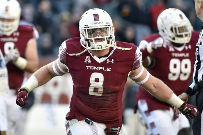 Toledo  vs. Temple  - 12/22/15 College Football Boca Raton Bowl Pick, Odds, and Prediction