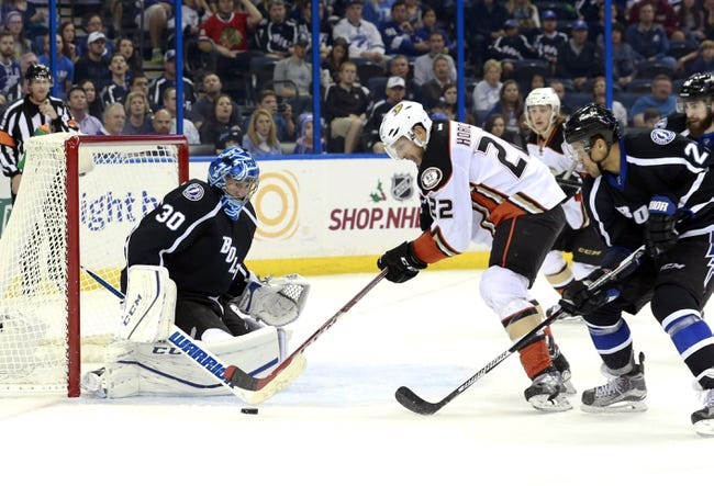 Anaheim Ducks vs. Tampa Bay Lightning - 12/2/15 NHL Pick, Odds, and Prediction