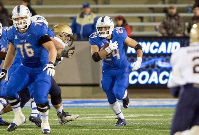 CFB | Tulsa Golden Hurricane (5-6) at Tulane Green Wave (3-7)