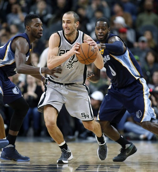 Spurs at Grizzlies - 12/3/15 NBA Pick, Odds, and Prediction