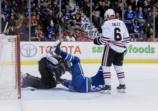 Chicago Blackhawks vs. Vancouver Canucks - 12/13/15 NHL Pick, Odds, and Prediction