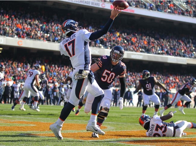 Denver Broncos at Chicago Bears 11/22/15 NFL Score, Recap, News and Notes