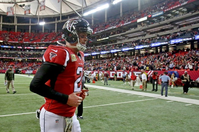 Falcons vs. Vikings - 11/29/15 NFL Pick, Odds, and Prediction