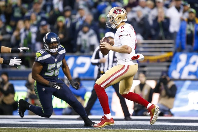 San Francisco 49ers at Seattle Seahawks - 9/25/16 NFL Pick, Odds, and Prediction