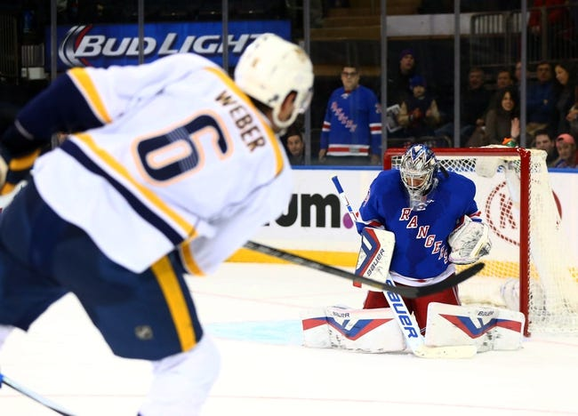 Nashville Predators vs. New York Rangers - 12/28/15 NHL Pick, Odds, and Prediction