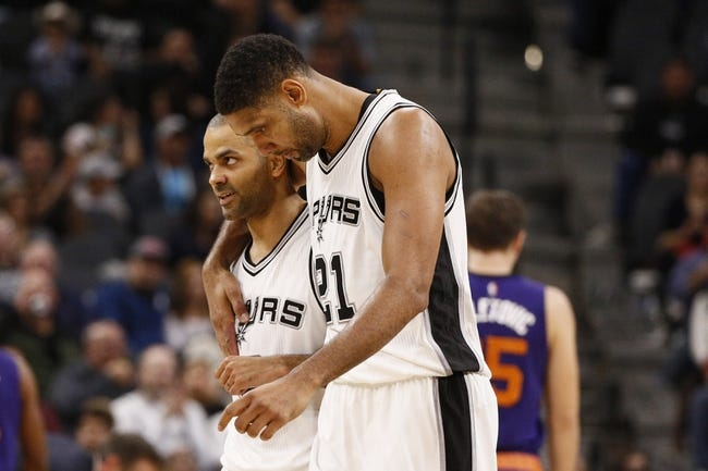 San Antonio Spurs vs. Phoenix Suns - 12/30/15 NBA Pick, Odds, and Prediction