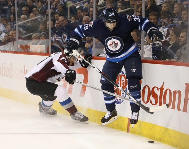 Colorado Avalanche vs. Winnipeg Jets - 11/28/15 NHL Pick, Odds, and Prediction