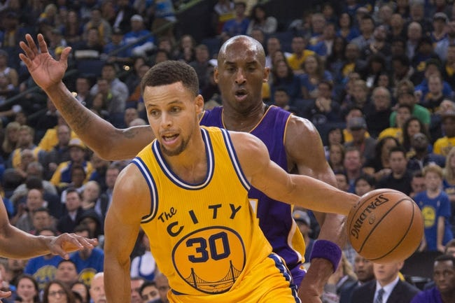 Lakers at Warriors - 1/14/16 NBA Pick, Odds, and Prediction