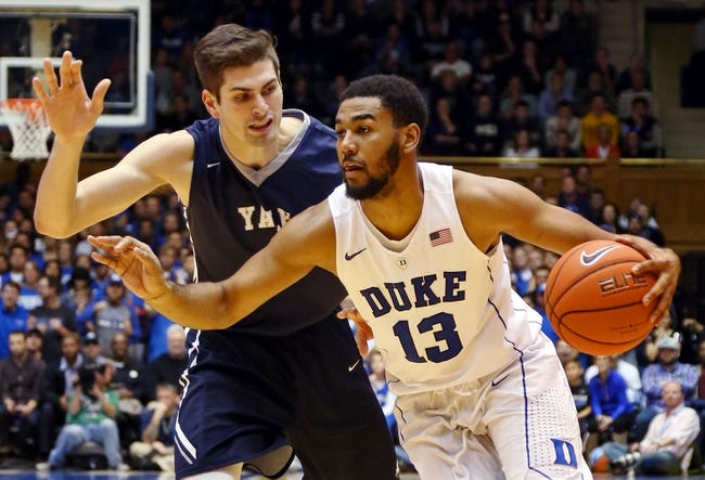 Yale vs. Duke - 3/19/16 NCAA Tournament Pick, Odds, and Prediction