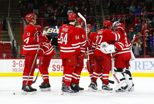 Carolina Hurricanes vs. Arizona Coyotes - 12/6/15 NHL Pick, Odds, and Prediction