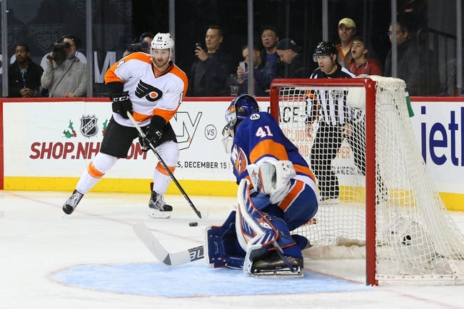 Philadelphia Flyers vs. New York Islanders - 12/8/15 NHL Pick, Odds, and Prediction