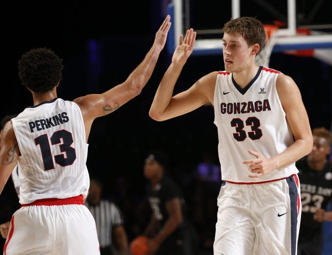Gonzaga vs. Connecticut - 11/27/15 College Basketball Pick, Odds, and Prediction